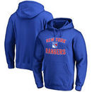 New York Rangers Fanatics Branded Victory Arch Pullover Hoodie – Blue