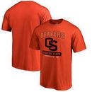Oregon State Beavers Fanatics Branded Campus Icon T-Shirt - Orange