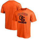 Oregon State Beavers Fanatics Branded Campus Icon Big and Tall T-Shirt - Orange