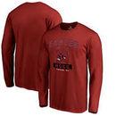 North Carolina Central Eagles Fanatics Branded Campus Icon Long Sleeve T-Shirt - Maroon