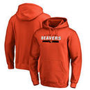 Oregon State Beavers Fanatics Branded Team Strong Pullover Hoodie - Orange