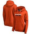 Oregon State Beavers Fanatics Branded Women's Team Strong Pullover Hoodie - Orange