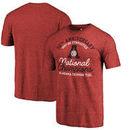 Alabama Crimson Tide Fanatics Branded Gymnastics Anniversary Tri-Blend T-Shirt - Crimson