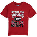 Georgia Bulldogs Infant Start 'Em Young T-Shirt - Red