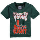 Miami Hurricanes Toddler Start 'Em Young T-Shirt - Green