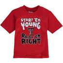 Texas Tech Red Raiders Toddler Start 'Em Young T-Shirt - Scarlet