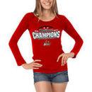 Louisville Cardinals Women's 2012 Basketball Champions Long Sleeve T-Shirt - Red