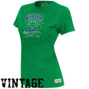 Mitchell & Ness Hartford Whalers Women's Vintage Tailgate Crew T-Shirt - Green