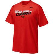 Nike Louisville Cardinals Youth 2013 Sugar Bowl Bound Team T-Shirt - Red