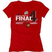 Louisville Cardinals 2013 Men's Basketball Tournament Women's Final Four Bound Vanish T-Shirt - Red