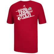 Louisville Cardinals 2013 Men's Basketball Tournament Final Four Bound Youth Making The Cut T-Shirt - Red