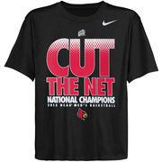 Nike Louisville Cardinals 2013 NCAA Men's Basketball National Champions Youth Locker Room T-Shirt - Black