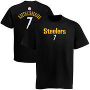 Ben Roethlisberger Pittsburgh Steelers Youth Primary Gear Player Name & Number T-Shirt - Black