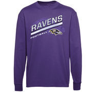 Baltimore Ravens Preschool Serious Business Long Sleeve T-Shirt - Purple