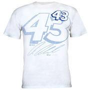 Chase Authentics Aric Almirola Big Number T-Shirt - White