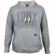 Chase Authentics Tony Stewart Youth Primary Pullover Hoodie - Ash