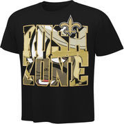New Orleans Saints Youth Black NFL Rush Zone In Your Face T-Shirt
