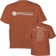 Texas Longhorns 2010-2011 Women's Basketball Season T-Shirt