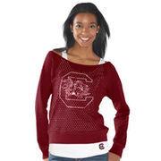 South Carolina Gamecocks Womens Holy Long Sleeve T-Shirt and Tank - Garnet