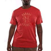 Habana Leones Common Union Vintage Tri-Blend T-Shirt - Dark Red