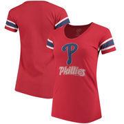 Philadelphia Phillies '47 Women's Off Campus Scoop T-Shirt - Red