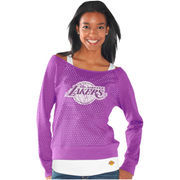 Los Angeles Lakers Womens Holy Long Sleeve T-Shirt and Tank - Purple