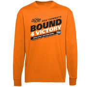 Oklahoma State Cowboys 2014 Cotton Bowl Bound For Victory Long Sleeve T-Shirt - Orange