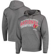 Louisville Cardinals Final Four Hooded Sweatshirt - Gray