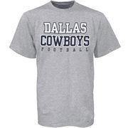 Dallas Cowboys Ash Youth Practice T-shirt