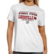 Louisville Cardinals Women's Final Four Bound T-Shirt - White