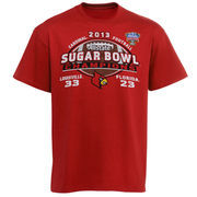 Louisville Cardinals Youth Bowl Champs T-Shirt - Red