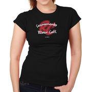 Sacramento River Cats Women's Softstyle T-Shirt - Black