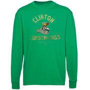 Clinton LumberKings Ring Him Up Long Sleeve T-Shirt - Green