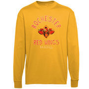 Rochester Red Wings Ring Him Up Long Sleeve T-Shirt - Gold