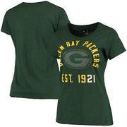 Green Bay Packers Women's Shutout T-Shirt - Green
