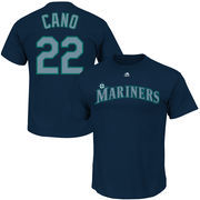 Robinson Cano Seattle Mariners Majestic Official Name and Number T-Shirt - Navy