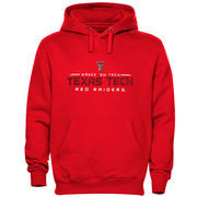 Texas Tech Red Raiders Cyber Sport Pull Over Hoodie - Red