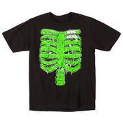 Metal Mulisha Youth Rib Glow T-Shirt - Black