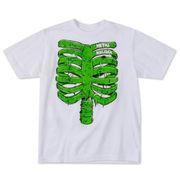 Metal Mulisha Youth Rib Glow T-Shirt - White