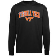 Virginia Tech Hokies Youth Midsize Long Sleeve T-Shirt - Black