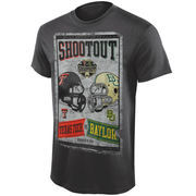Texas Tech Red Raiders vs. Baylor Bears 2014 Shootout Dueling Game Day T-Shirt - Gray