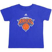 New York Knicks adidas Preschool Primary Logo T-Shirt - Royal Blue