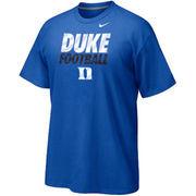 Duke Blue Devils Nike Youth Cotton Practice T-Shirt - Blue