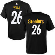Le'Veon Bell Pittsburgh Steelers Youth Primary Gear Name & Number T-Shirt - Black