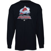 Colorado Avalanche Majestic Big & Tall Critical Victory Long Sleeve T-Shirt - Navy Blue