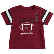 South Carolina Gamecocks Colosseum Infant Pigskin Football T-Shirt - Garnet