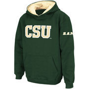 Colorado State Rams Stadium Athletic Youth Big Logo Pullover Hoodie - Green