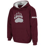 Montana Grizzlies Stadium Athletic Youth Big Logo Pullover Hoodie - Maroon