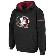 Florida State Seminoles Stadium Athletic Youth Big Logo Pullover Hoodie - Black