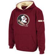 Florida State Seminoles Stadium Athletic Youth Big Logo Pullover Hoodie - Garnet